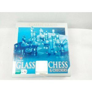 Cardinal Class Game Glass Chess and Checkers